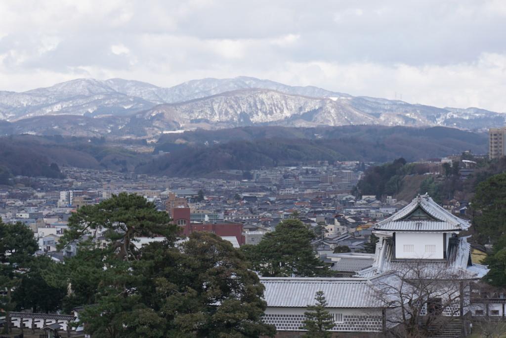 金沢城からの眺め