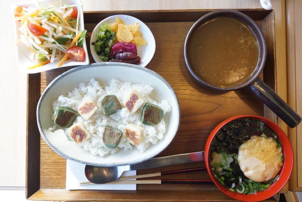 生麩と豆のカレー
