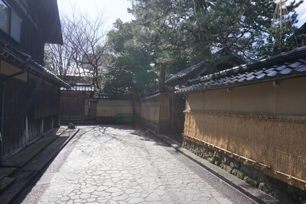 江戸時代の面影が残る道