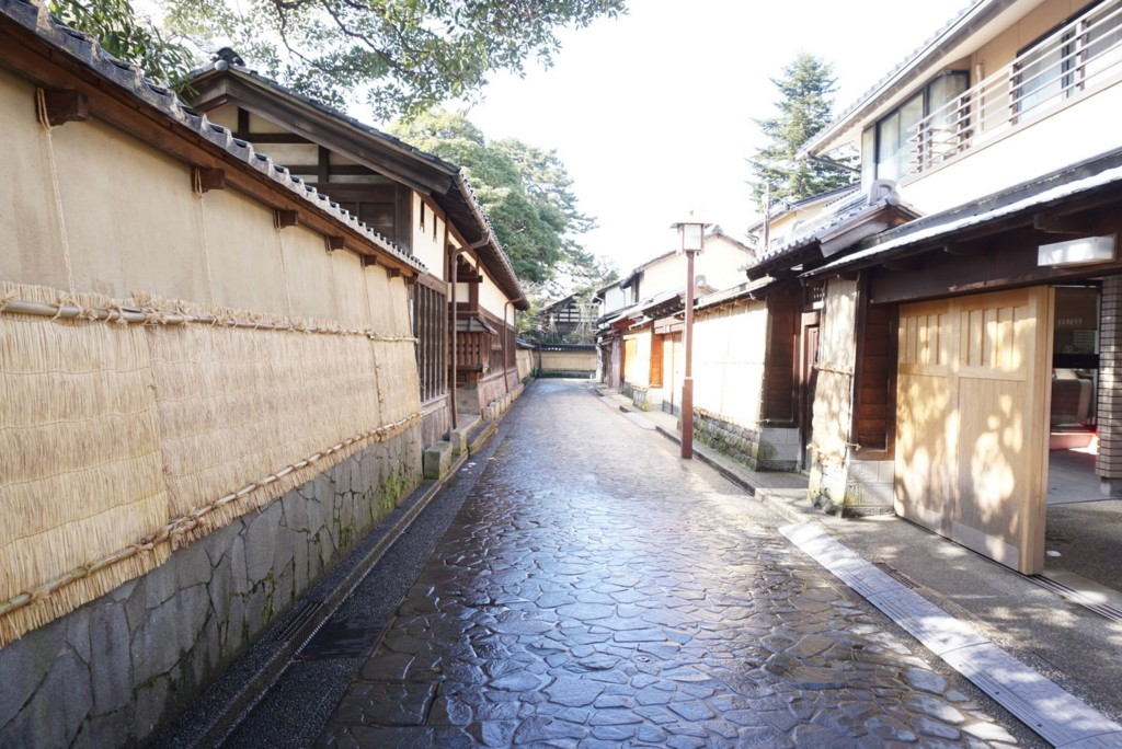 金沢の長町武家屋敷跡