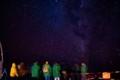 マウナケア州立公園付近から見た星空
