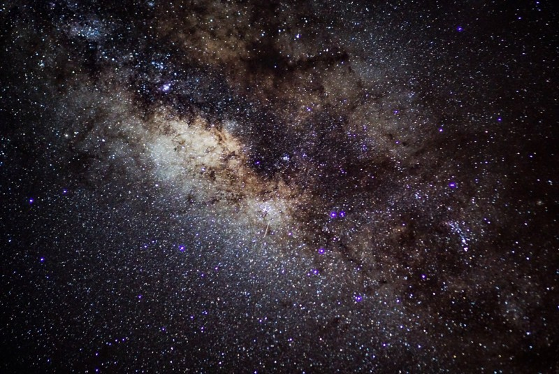 ハワイ島から見た星空