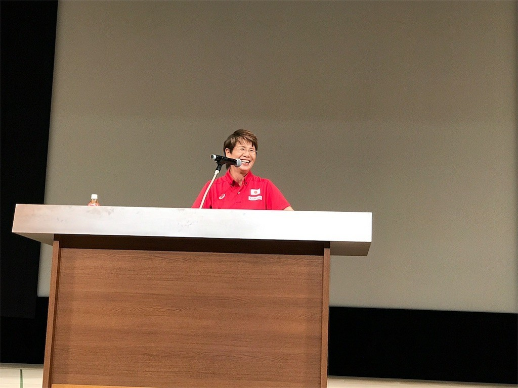 シンクロ日本代表ヘッドコーチの井村雅代さん