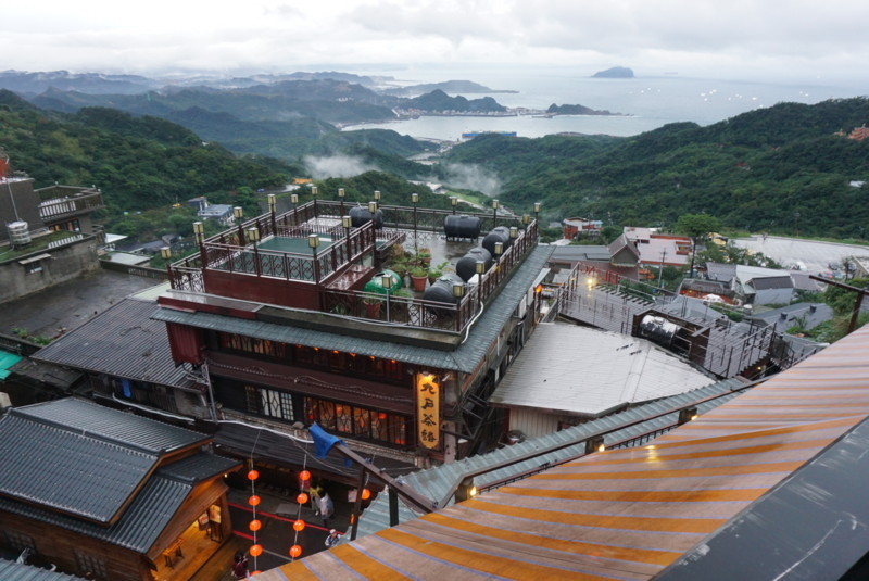 阿妹茶楼から見た風景