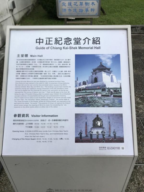 中正記念堂の説明