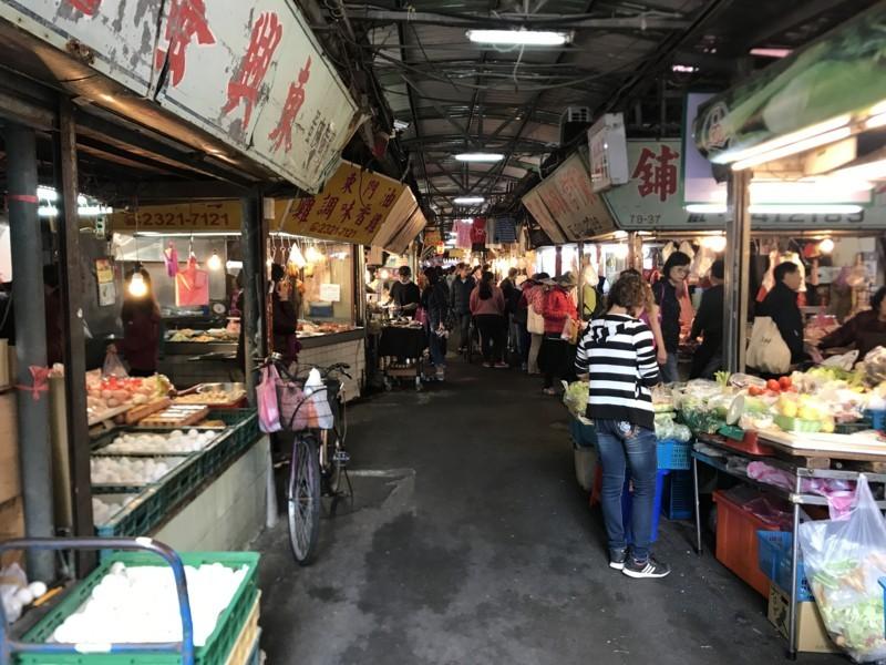 東門市場の中の雰囲気