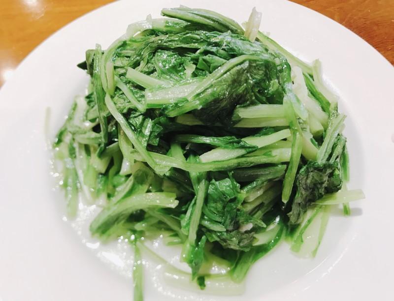 鼎泰豊のA菜炒め