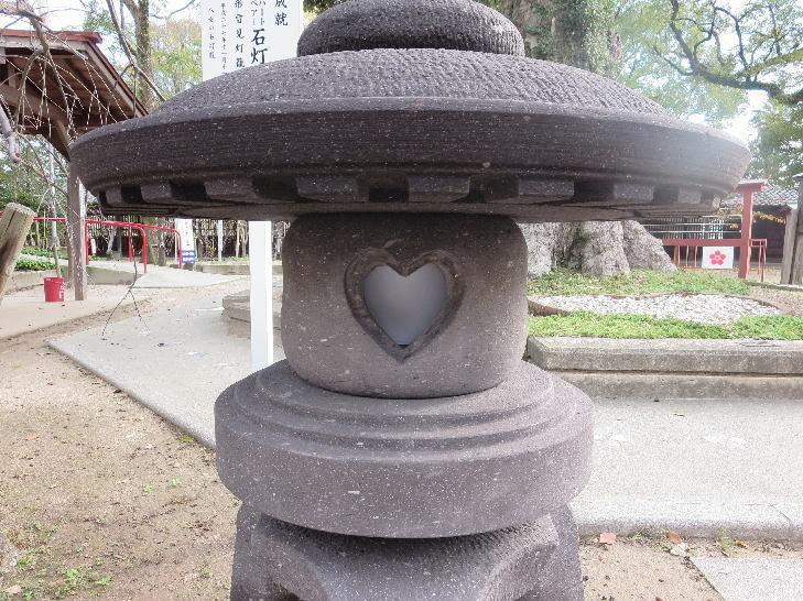 恋木石灯籠