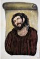 例のフレスコ画の修復を試みた