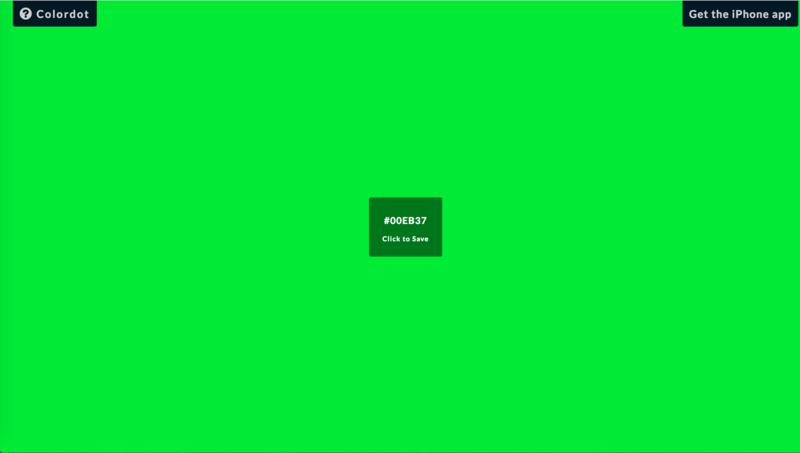 マウスで直感的にカラーコードを抽出するツール