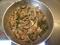 鶏チンジャオ調理
