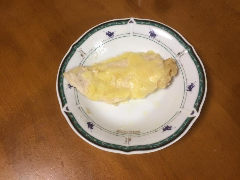 鶏胸肉チーズ焼き