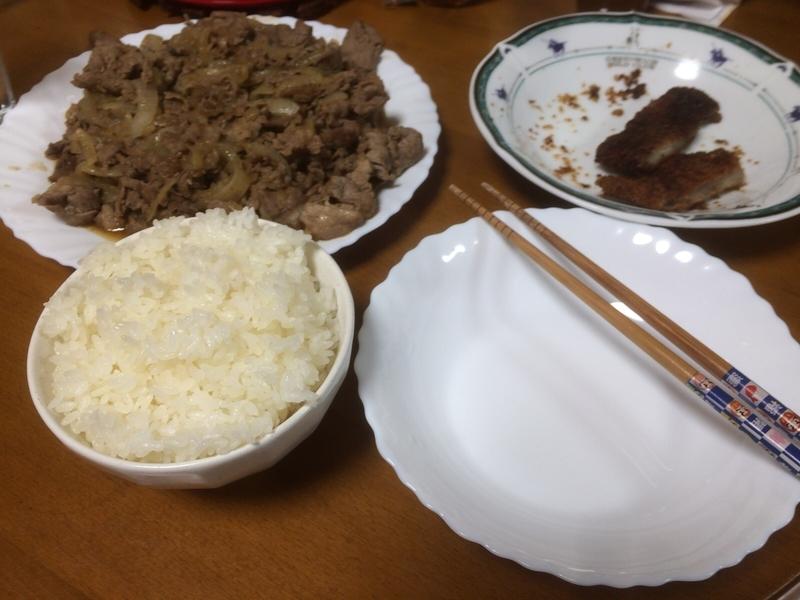 焼き肉炒め実食2019/2