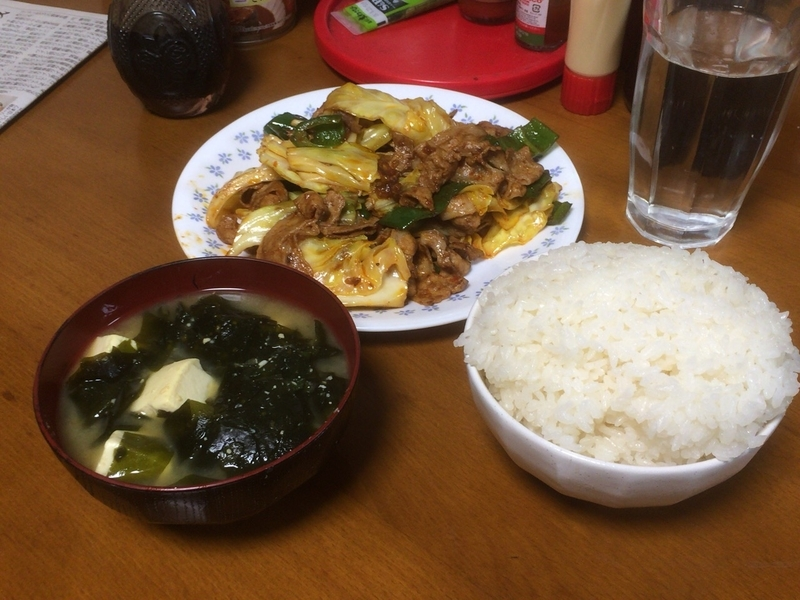 夕食一覧2019/03/21