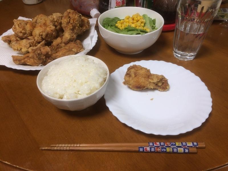 夕食一覧2019/03/27