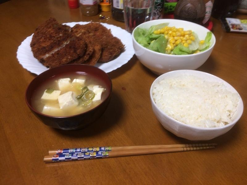 夕食一覧2019/03/29