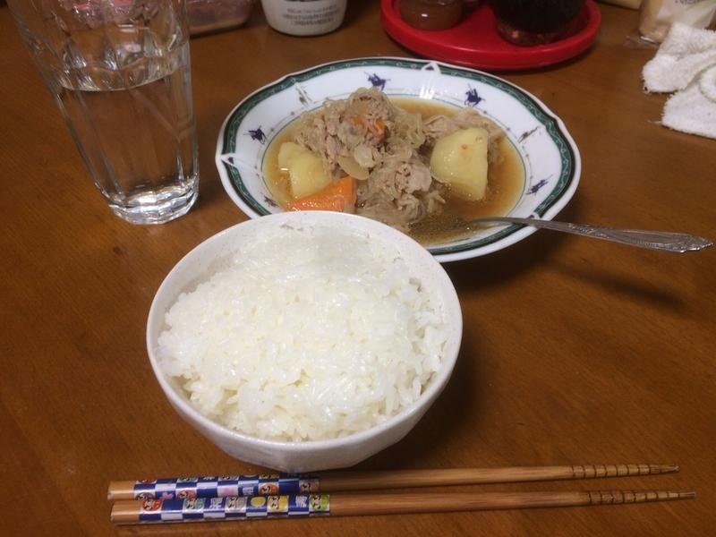 肉じゃが完成2019/04/04