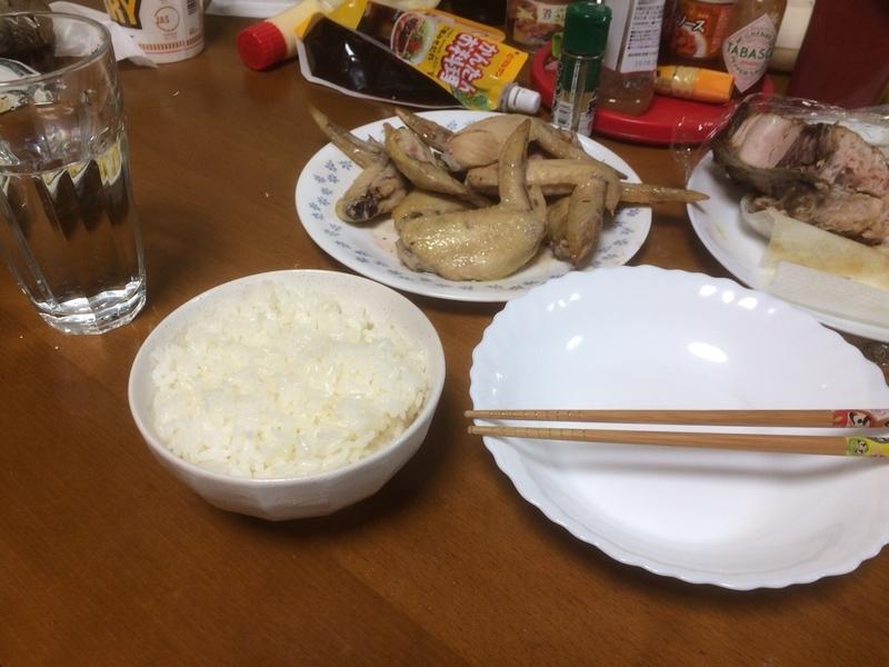 手羽先グリル完成2019/04/10