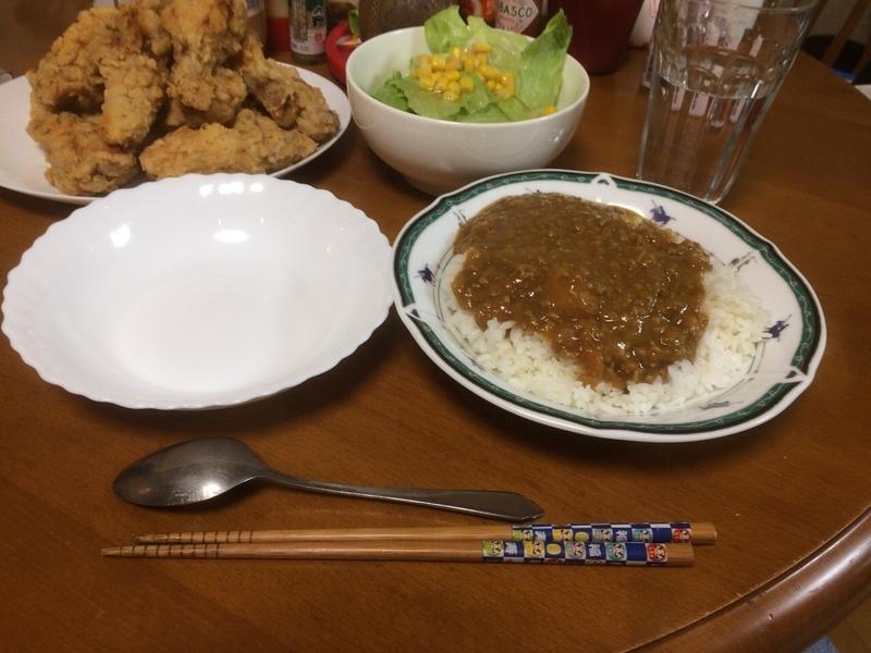 夕食一覧2019/04/12