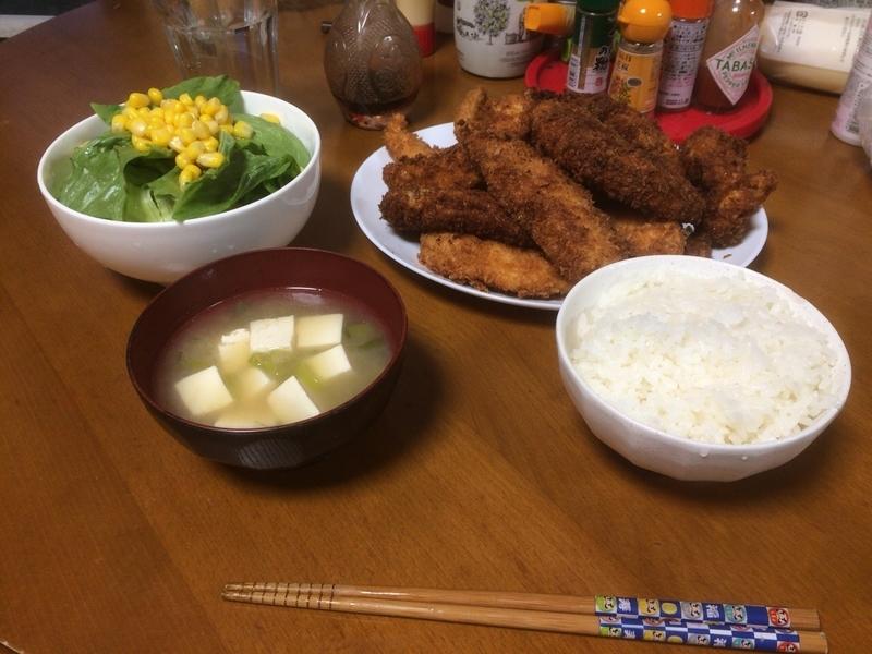夕食一覧2019/04/15
