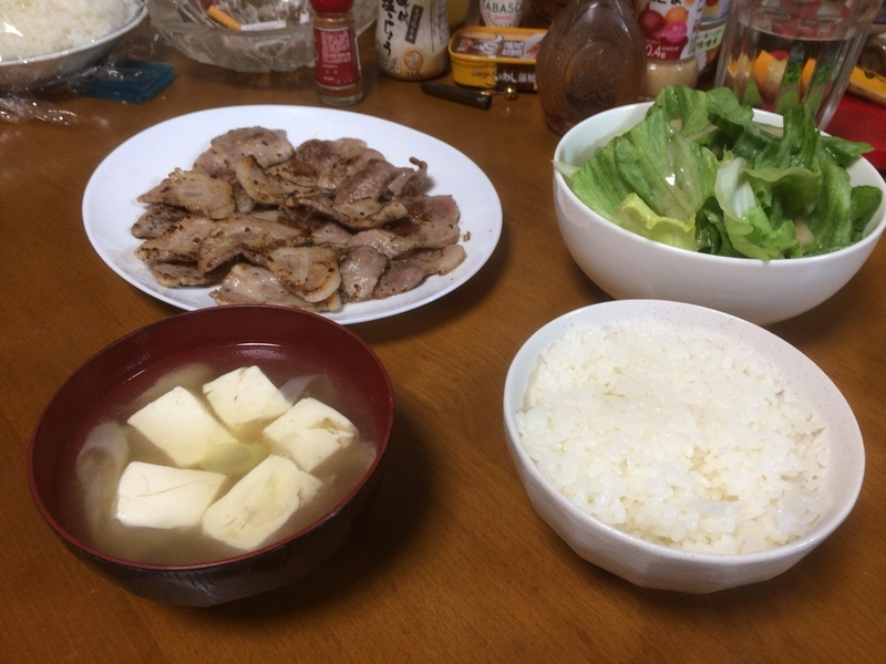 夕食一覧2019/04/22