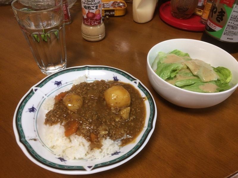 夕食一覧2019/04/23