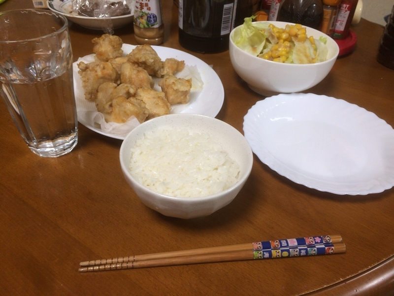 夕食一覧2019/05/07