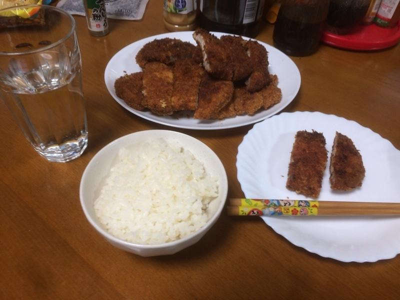 夕食一覧2019/05/08