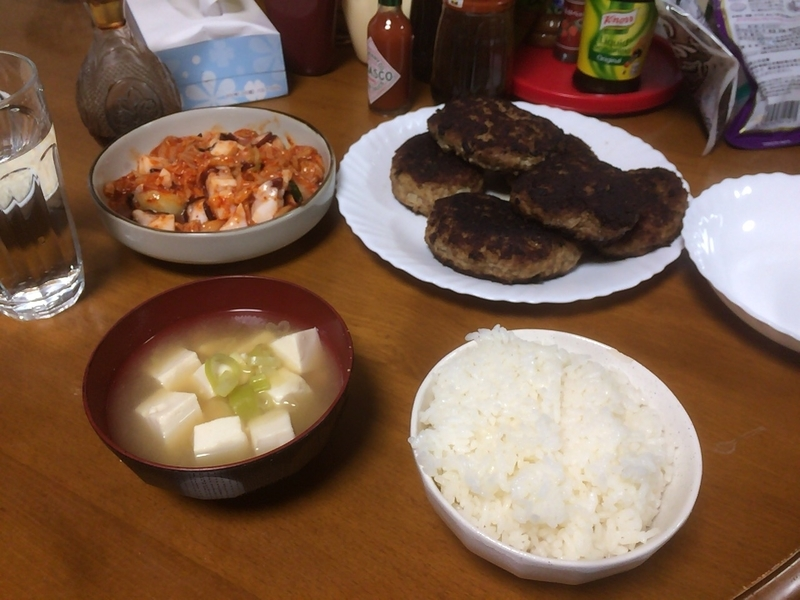 夕食一覧2019/05/20