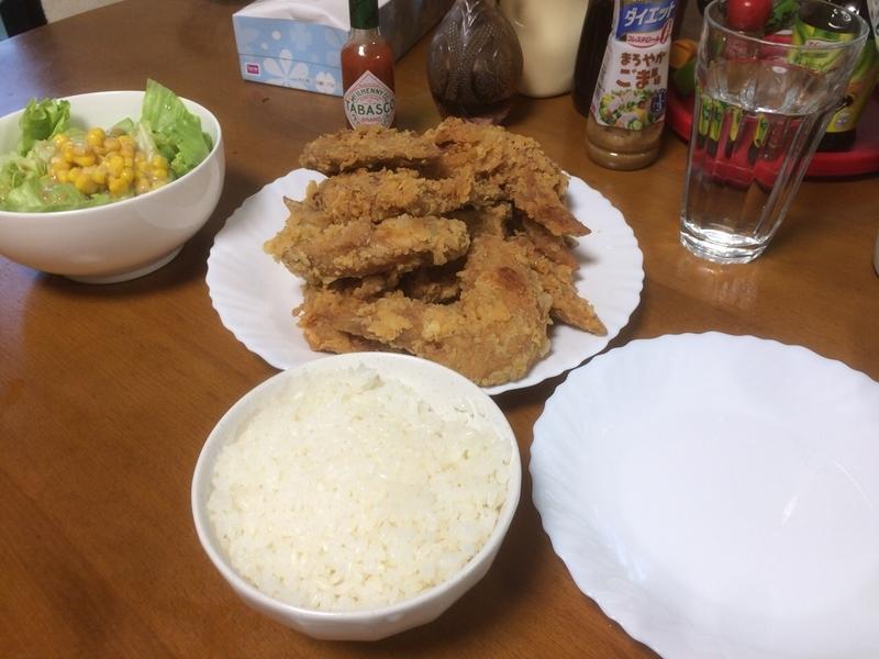 夕食一覧2019/05/21