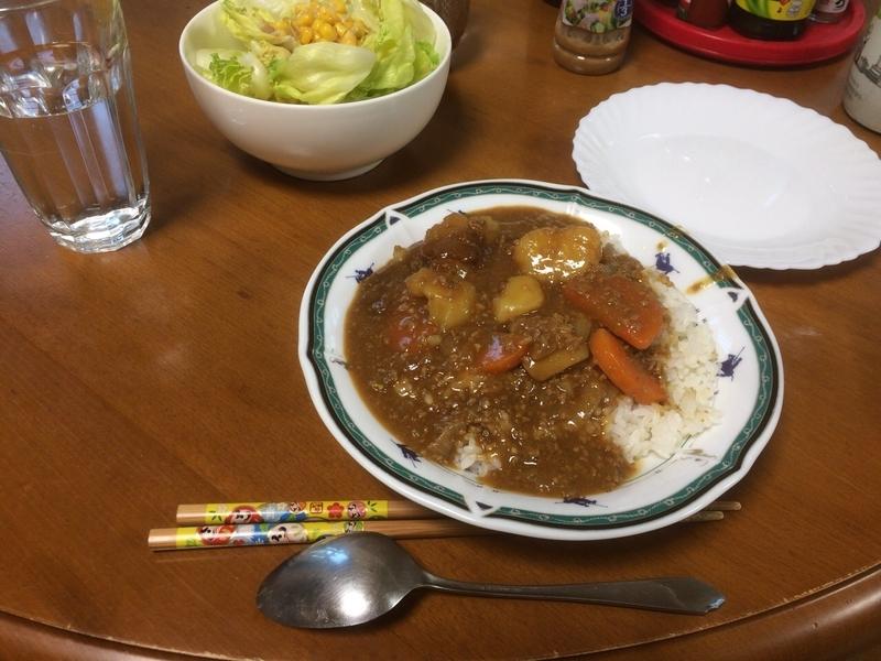 夕食一覧2019/05/22