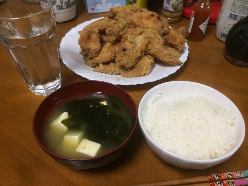 夕食一覧2019/05/24
