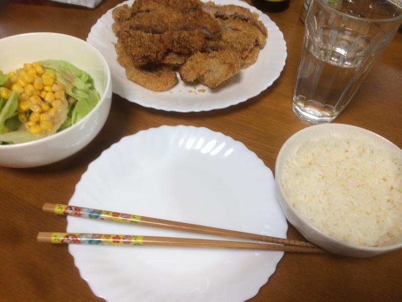 夕食一覧2019/07/09
