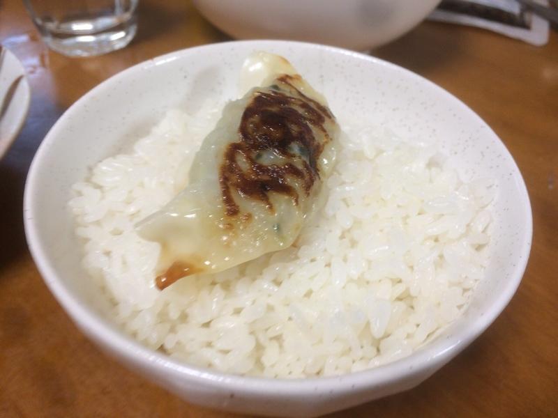 チルド餃子ご飯2019/07/15