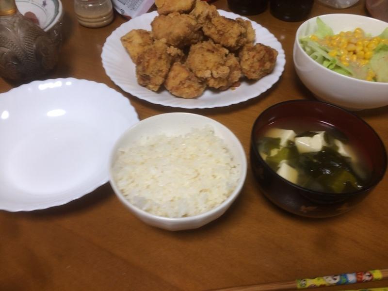 夕食一覧2019/07/19