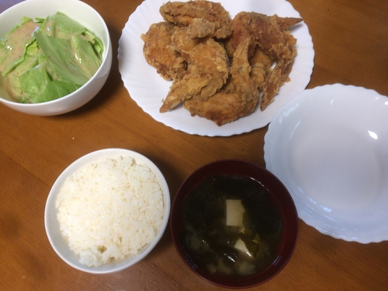 夕食一覧2019/07/25