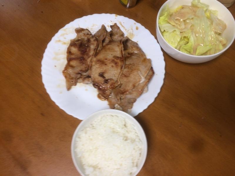 夕食一覧2019/07/29