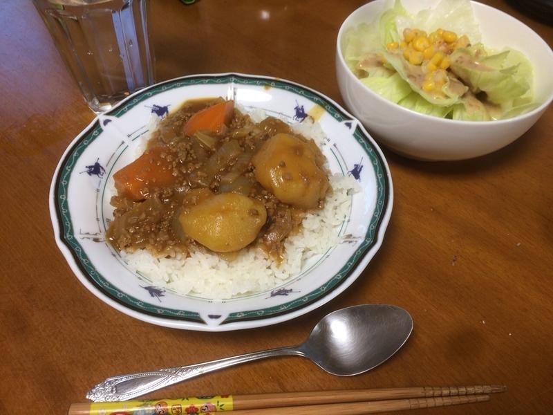 夕食一覧2019/08/07