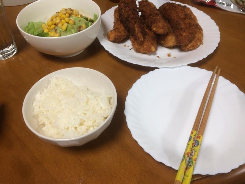 夕食一覧2019/08/13