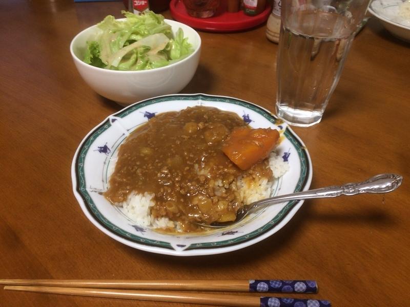 夕食一覧2019/08/29