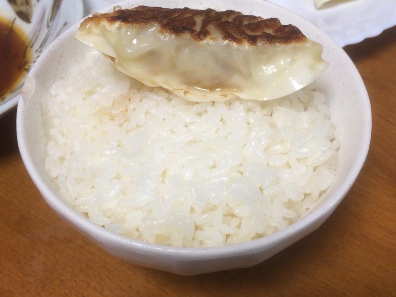 チルド餃子ご飯2019/09/07