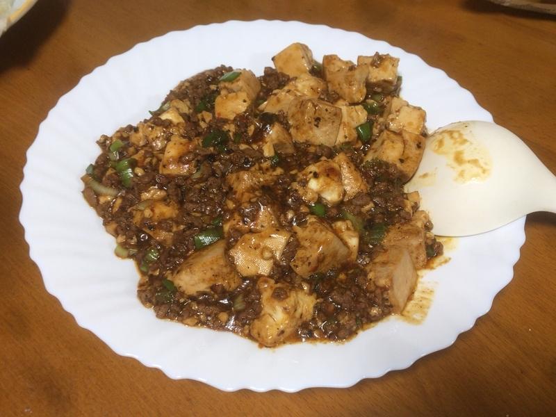 麻婆豆腐2019/09/13