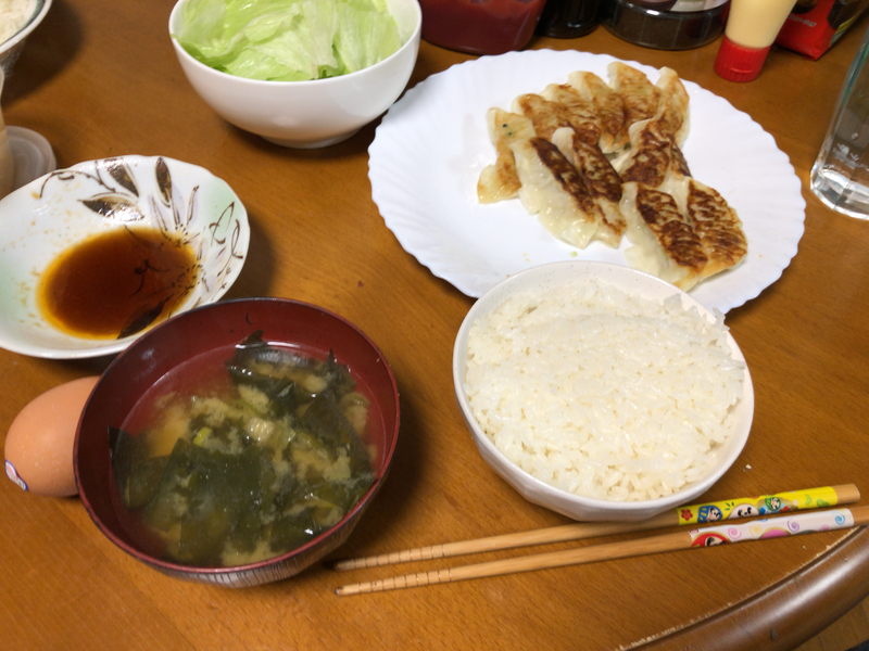 夕食一覧2019/11/09
