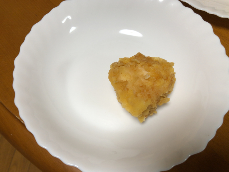 鶏むね肉唐揚げ皿2020/01/03