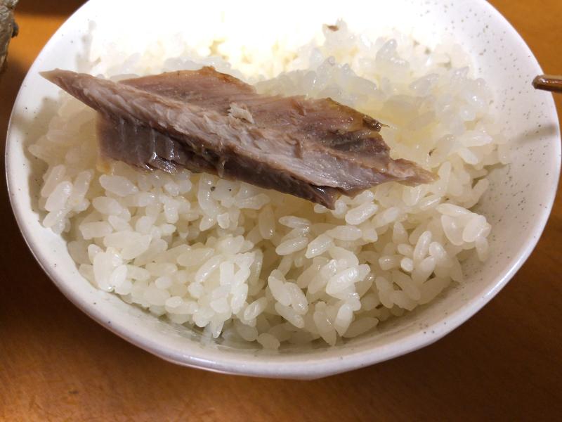 さんまの塩焼きご飯2020/02/03