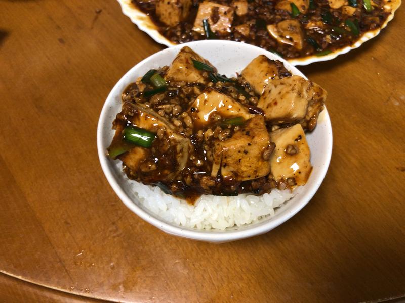 麻婆豆腐ご飯2020/02/23