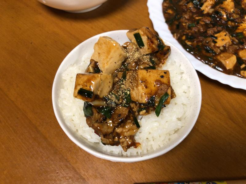麻婆豆腐ご飯2020/03/01