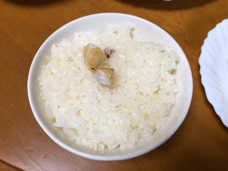 サバ塩焼きご飯2020/03/23