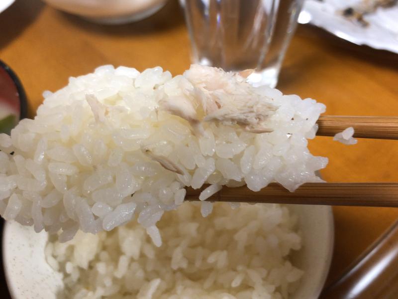 さんまの塩焼き箸2020/03/30