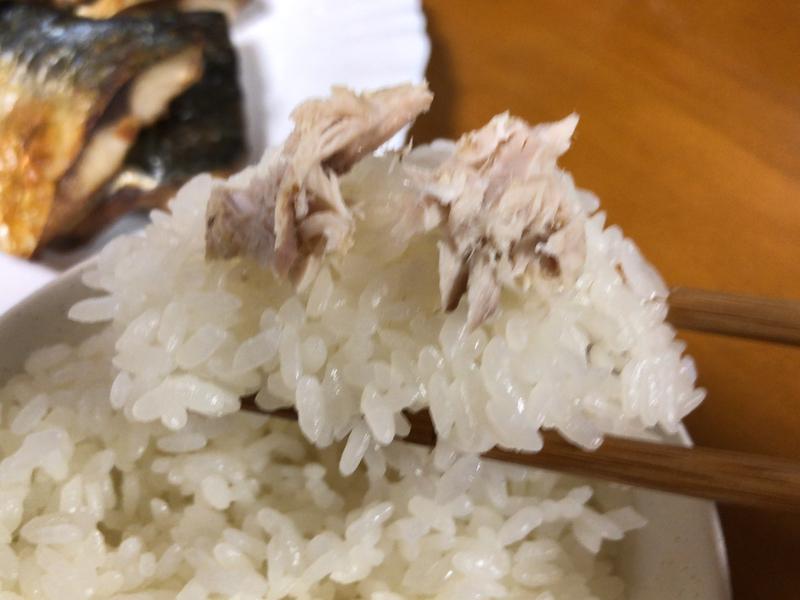 サバの塩焼き箸2020/04/28